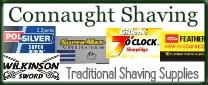 connaught shaving brushes ad logo